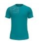 Camiseta Elite VIII turquesa
