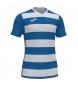 Camiseta Europa IV blanco, azul