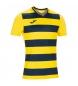 Camiseta Europa IV amarillo, negro