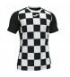Camiseta Flag II negro, blanco