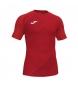 Compar Joma  Camiseta esportiva vermelha de Haka