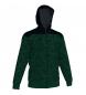 Chaqueta con capucha Winner II negro-verde