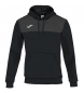 SUDADERA CAPUCHA WINNER COTTON NEGRO-ANTRACIT