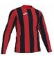 Camiseta Inter rojo, negro