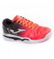 Zapatillas de pádel J.Slam lady 907 coral, negro -Clay-