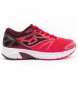 Zapatillas running J.victory jr 907 coral,granate