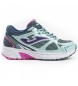 Zapatillas running J.vitaly jr 915 turquesa