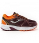 Zapatillas running J.Vitaly jr 920 granate, naranja