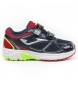 Zapatillas running J.vitaly jr 923 navy,rojo velcro