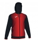 Compar Joma  Supernova sweatshirts black, red