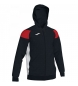 Compar Joma  Crew III sweatshirt black, red