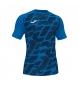 Camiseta Myskin II azul, negro