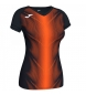 Compar Joma  Olimpia T-shirt black, orange