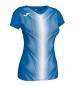 Camiseta Olimpia azul, blanco