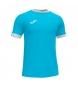 Compar Joma  T-shirt aberta III turquesa, branca
