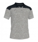Compar Joma  Polo Winner II cotton gris antracita-negro m/c