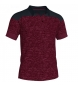 Compar Joma  Polo Winner II cotton burgundy-black m/c