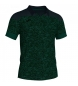 Polo Winner II cotton verde-negro m/c
