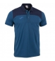 Polo Winner II cotton azul royal-negro m/c