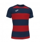 Compar Joma  T-shirt Prorugby II vermelha, marinha