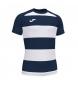 Compar Joma  T-shirt Prorugby II blanc, marine