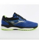 Zapatillas running Super Cross azul / 363g