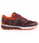 Compar Joma  Running Shoes Titanium Men Garnet