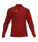 Compar Joma  Sweatshirt 1/2 zíper Raco vermelho