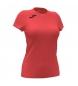 Compar Joma  T-shirt Record II manica corta corallo fluor