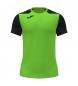 Compar Joma  T-shirt a maniche corte Record II verde, nera