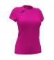 Compar Joma  T-shirt manica corta Record II Rosa fluorescente