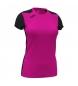 Compar Joma  T-shirt Record II manica corta rosa, nera