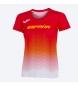 Camiseta Rfea rojo