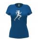 Camiseta Dance azul