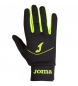Comprar Joma  Running gloves Tactil black-yellow fluoride