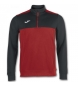 Comprar Joma  SWEATSHIRT 1/2 ZIPPER WINNER RED-BLACK