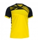 Camiseta Supernova II negro, amarillo