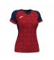 Camiseta Supernova III rojo, marino