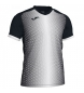 Comprar Joma  SUPERNOVA T-SHIRT BLACK-WHITE S/S