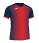 Comprar Joma  SUPERNOVA T-SHIRT DARK NAVY-RED S/S