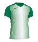 Comprar Joma  SUPERNOVA T-SHIRT GREEN-WHITE S/S