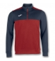 Compar Joma  VINCITORE 1/2 Sweatshirt Zipper RED-NAVY