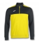 SWEATSHIRT 1/2 ZIPPER WINNER YELLOW-BLACK