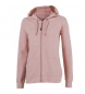 SWEATSHIRT ZIPPER CORINTO PINK WOMAN