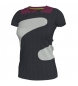 T-SHIRT ANTHRACITE-GREY-MAGENTA  WOMAN