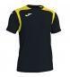 Camiseta Champion V negro, amarillo