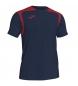 Camiseta Championship V marino, rojo