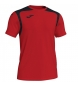Camiseta Champion V rojo, negro