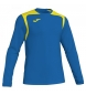 Camiseta Champion V azul, amarillo