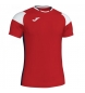 Compar Joma  Crew III T-shirt red, white